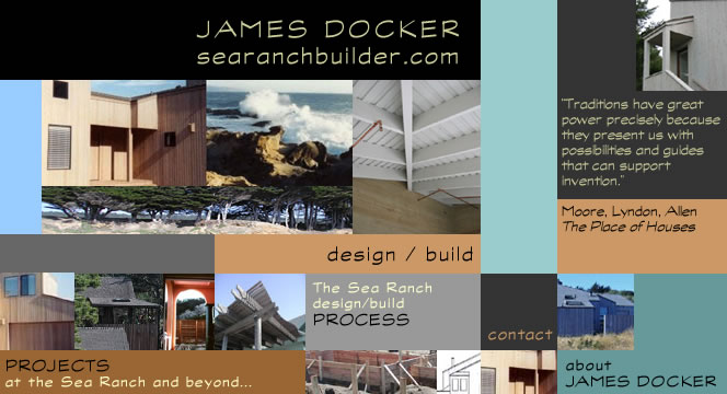 James Docker, Designer/Builder at The Sea Ranch